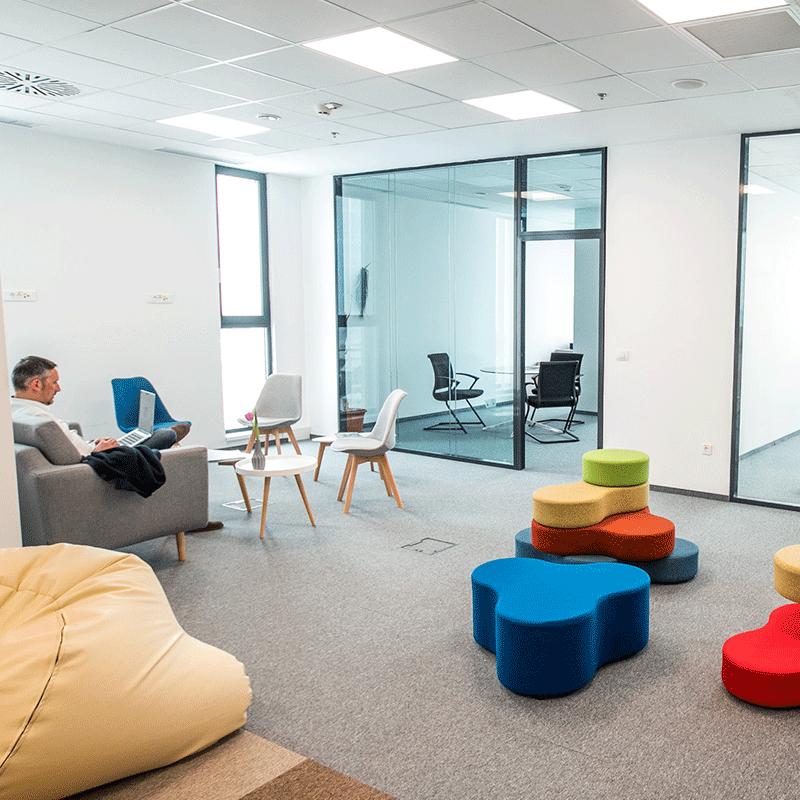 Birourile Werk Property Group, Veridium și Vox Technology Park
