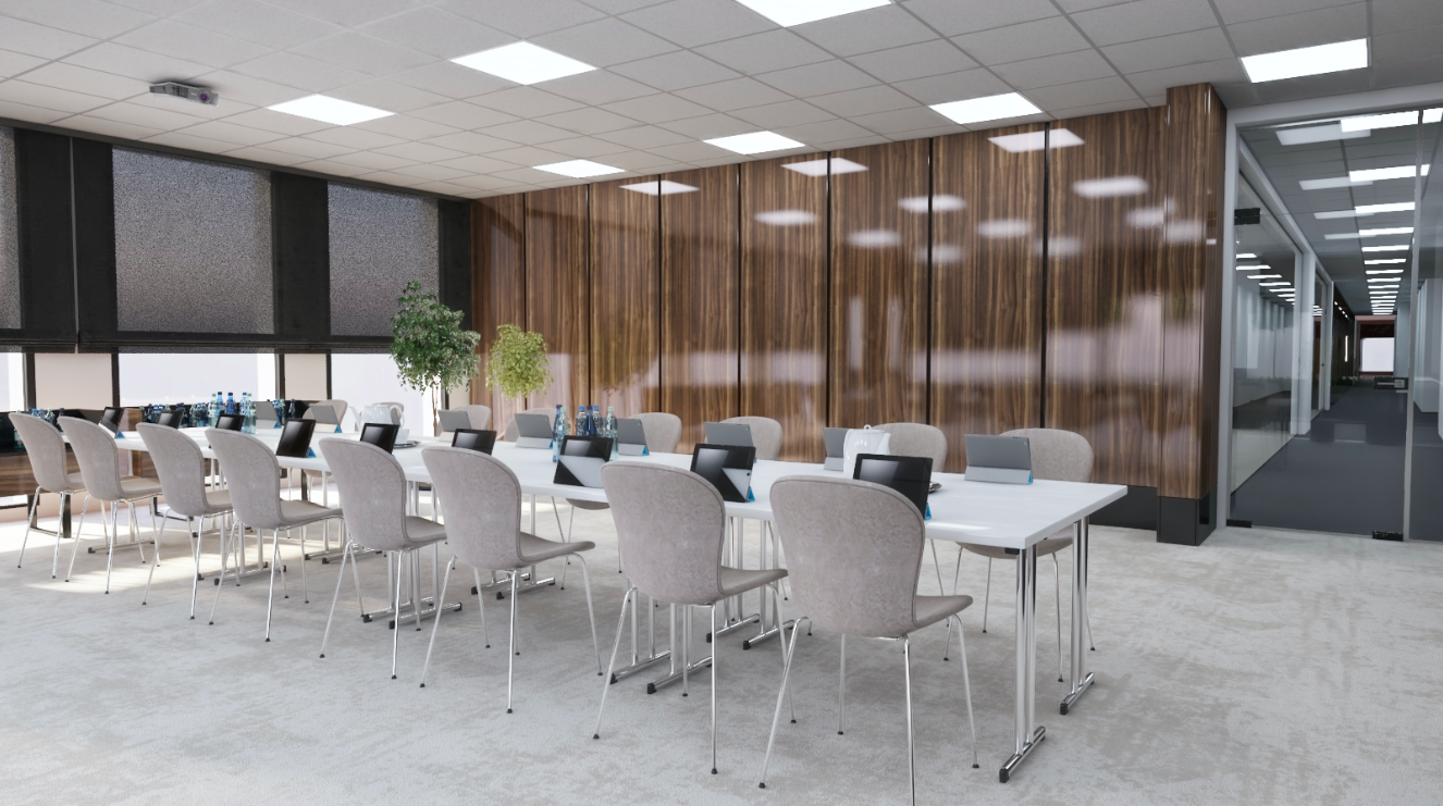 The most modern conference rooms in Timisoara will be at Vox Technology Park (article from opiniatimisoarei.ro)